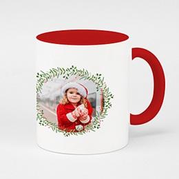 Fototassen Weihnachten Kranz