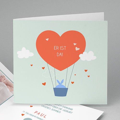 Babykarten für Jungen - In den Wolken 51726