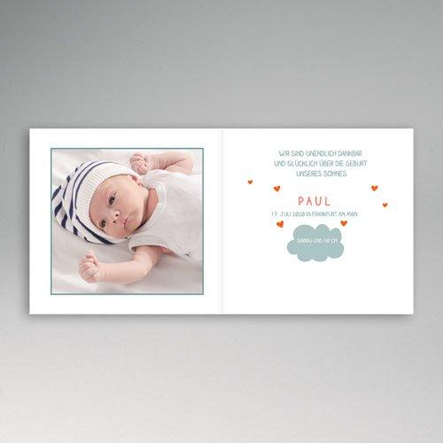 Babykarten für Jungen - In den Wolken 51727 preview