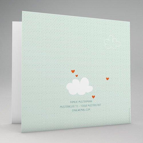 Geburtskarten für Mädchen - Heissluftballon 51737 preview