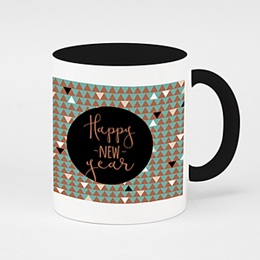 Zweifarbtasse Tee oder Kaffee