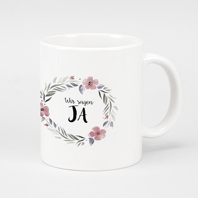 Personalisierte Fototassen Hochzeitsgeschenk
