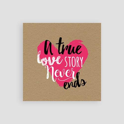Einlegekarten Hochzeit - Love Story 51803 preview