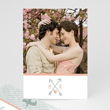 Hochzeitseinladungen modern - Amorpfeil - 0