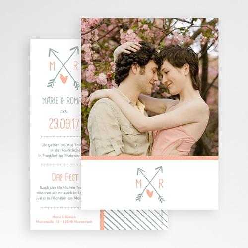 Hochzeitseinladungen modern - Liebesversprechen 51809 preview