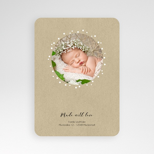 Geburtskarten mit Tiermotiven - Foxy 51934 preview