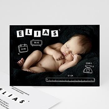 Originelle Geburtskarten  - Unikat - 0