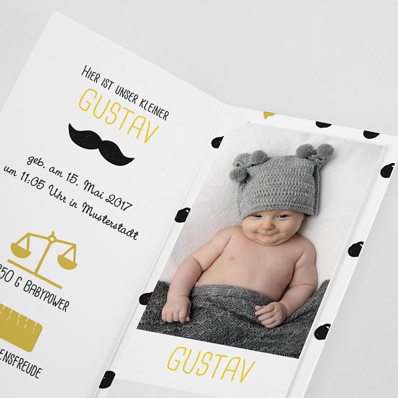 Geburtskarten für Jungen - Little Gentleman 51952 thumb