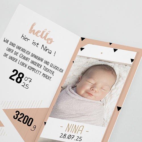 Geburtskarten für Mädchen - Sweet Origami 51961 test