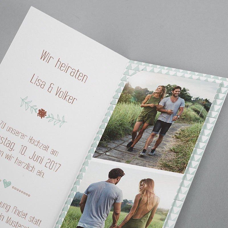 Hochzeitseinladungen Wedding Love pas cher