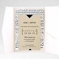 Hochzeitskarten Querformat - Tribal Modern 52036 test