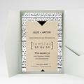 Hochzeitskarten Querformat - Tribal Modern 52037 test