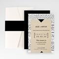 Hochzeitskarten Querformat - Tribal Modern 52040 test
