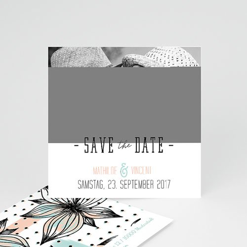 Save The Date  - Aquarell Malerei 52083