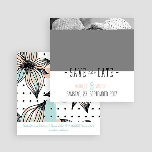 Save The Date  - Aquarell Malerei 52085 preview