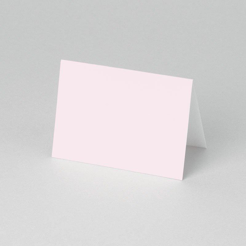 Tischkarten Kommunion Sanftes Rosa pas cher