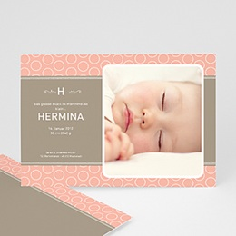 Geburtskarten für Mädchen Hella