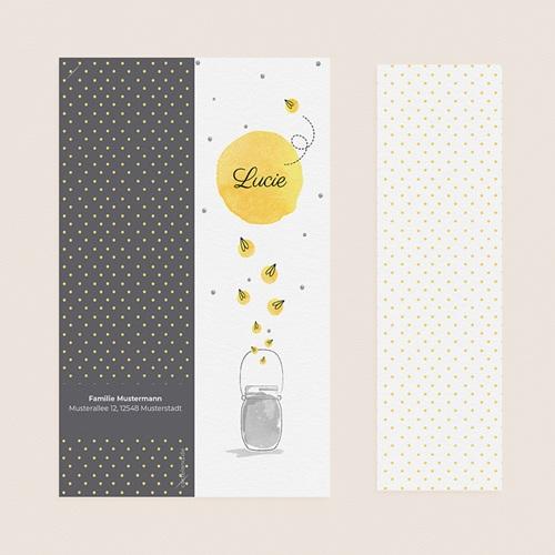 Geburtskarten mit Fotos Glühwürmchen pas cher