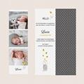 Geburtskarten mit Fotos Glühwürmchen gratuit
