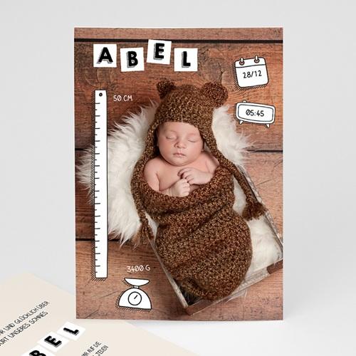 Babykarten für Jungen - ABC Baby 52330