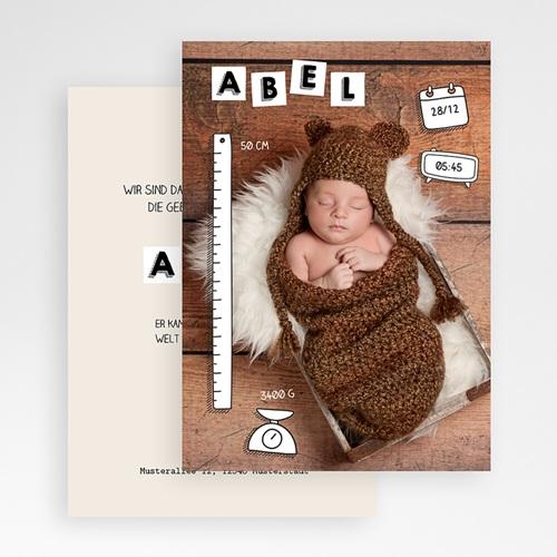Babykarten für Jungen - ABC Baby 52332 preview