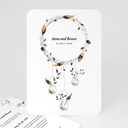 Einladungskarten Hochzeit  Boho Chic