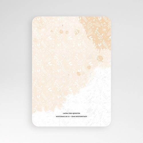 Elegante Hochzeitskarten  - Lovely Flower 52349 test