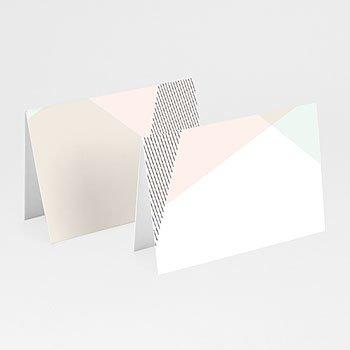 Tischkarten Hochzeit - Trendig - 0