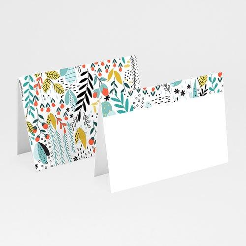 Tischkarten Hochzeit - Wilde Blumen 52408