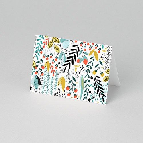 Tischkarten Hochzeit - Wilde Blumen 52409 test