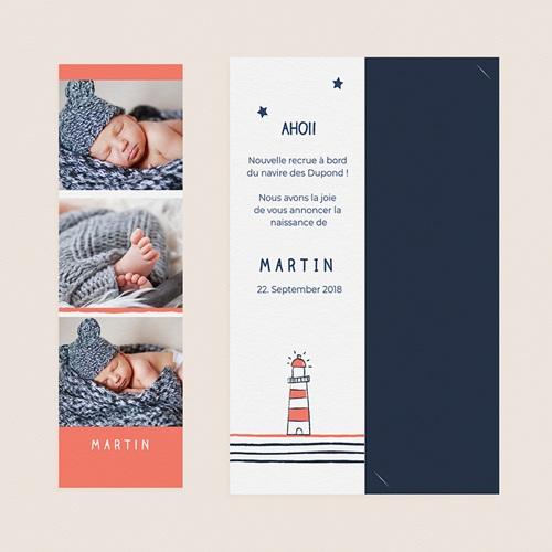 Geburtskarten mit Geschwistern - Leuchtturm 52437 preview