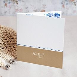 Karten Hochzeit Sommerblau