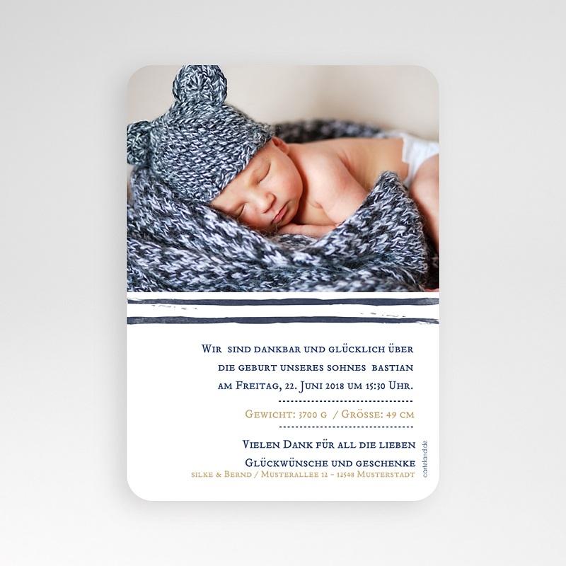 Geburtskarten für Jungen - Nachteule  52460 thumb