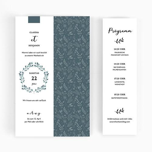 Hochzeitseinladungen modern - Green Love 52470 preview