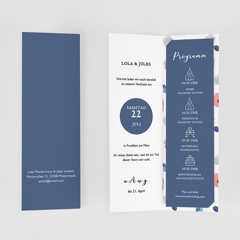 Hochzeitseinladungen Abstrakt gratuit