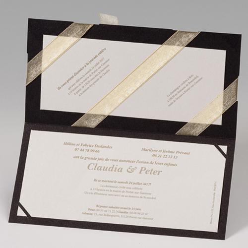 Hochzeitseinladungen traditionell - Luxus 52499 preview