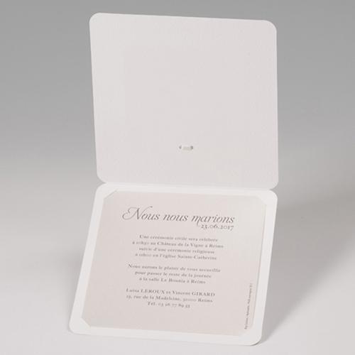 Hochzeitseinladungen traditionell - Ringe fürs Leben 52509 preview