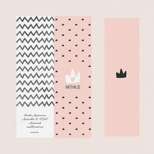 Geburtskarten für Mädchen - Kleine Königin 52523 thumb