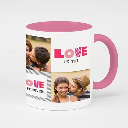 Zweifarbtasse - Big Love 52564