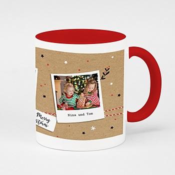 Zweifarbtasse Christmas Tea