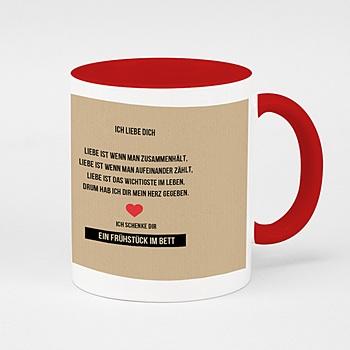 Zweifarbtasse - My Valentine - 0