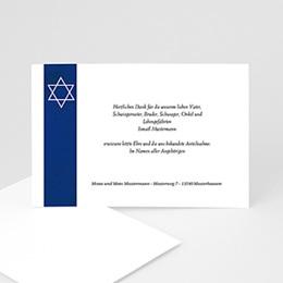 Trauer Danksagung israelitisch - Jüdisches Glaubensbekenntnis - 1