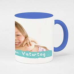 Zweifarbtasse Tasse zum Vatertag