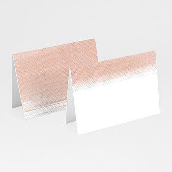 Tischkarten Hochzeit - Rose Chic & Holz - 0