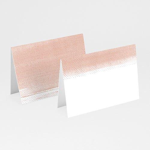 Tischkarten Hochzeit - Rose Chic & Holz 52697