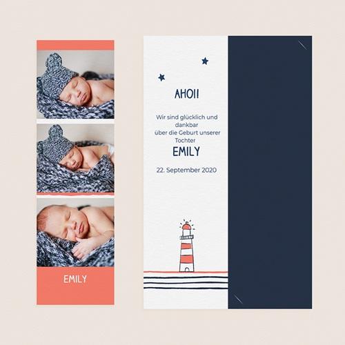 Geburtskarten für Jungen Lichtsignal gratuit