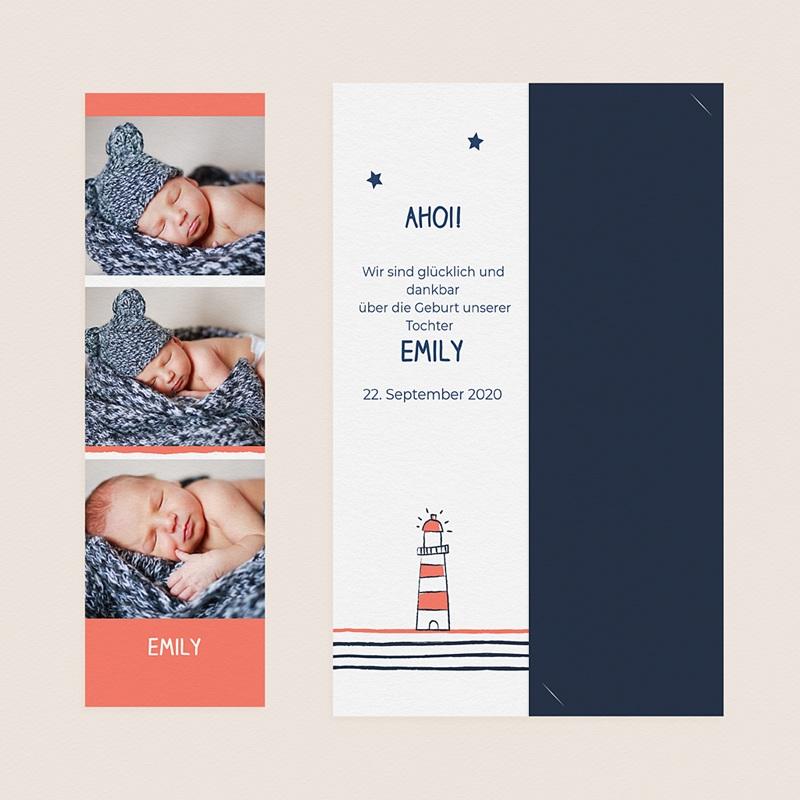 Geburtskarten Lichtsignal gratuit