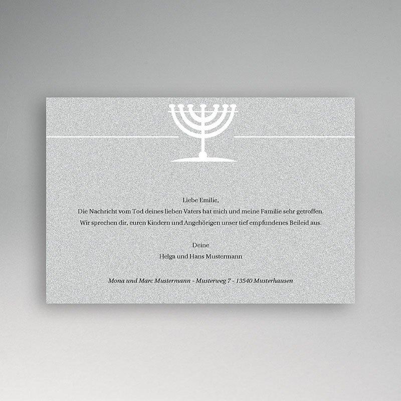 Trauer Danksagung israelitisch In Übereinstimmung mit Gott