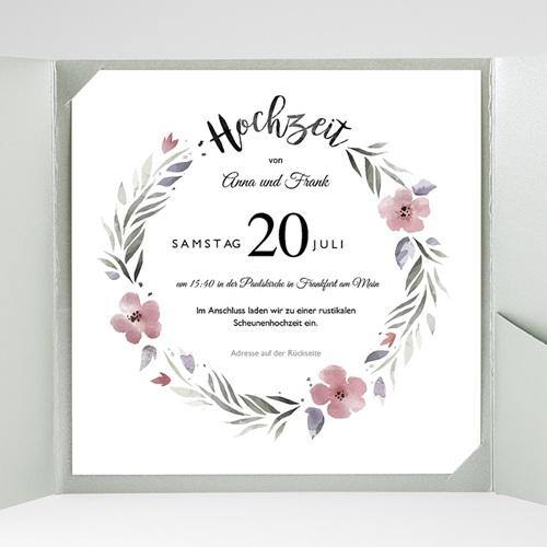 Hochzeitskarten Quadratisch - Herrlich romantisch 52857 test