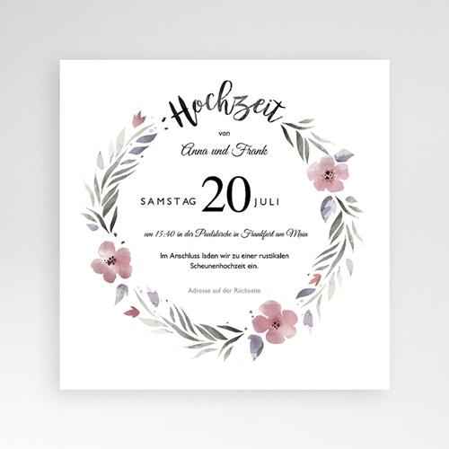Hochzeitskarten Quadratisch - Herrlich romantisch 52858 test